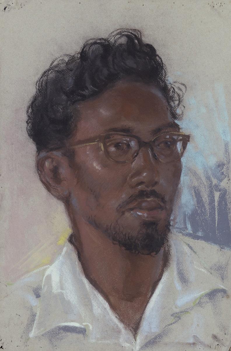 Лим Чэн Хое. Без названия (Портрет малайца)
