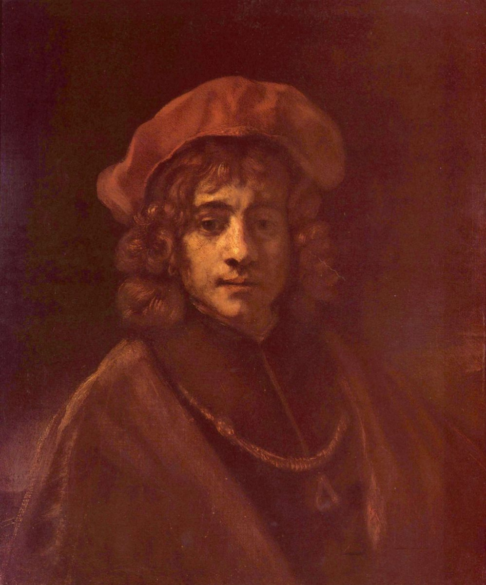 Рембрандт Ван Рейн. Портрет сына Титуса