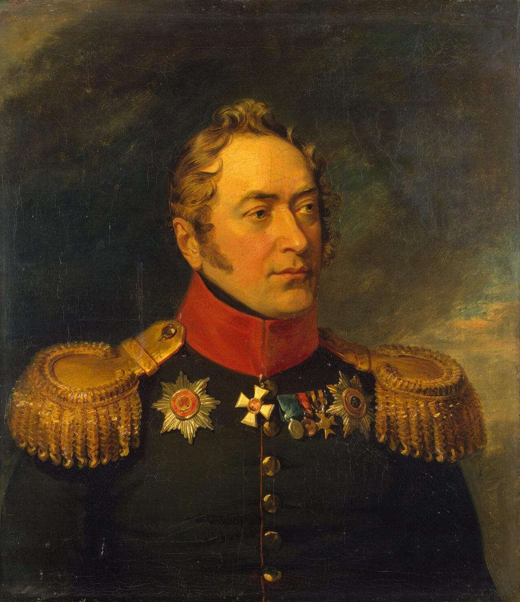 Джордж Доу. Портрет Николая Николаевича Хованского