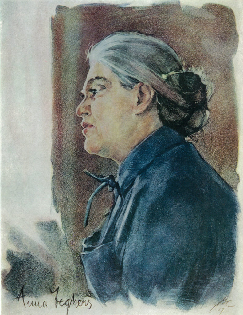 Владимир Максимович Соколов. Portrait of Anna Seghers