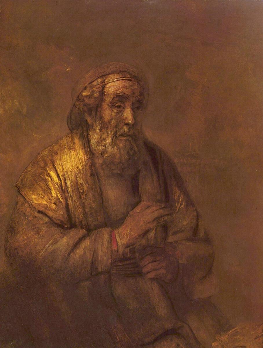 Рембрандт Ван Рейн. Гомер