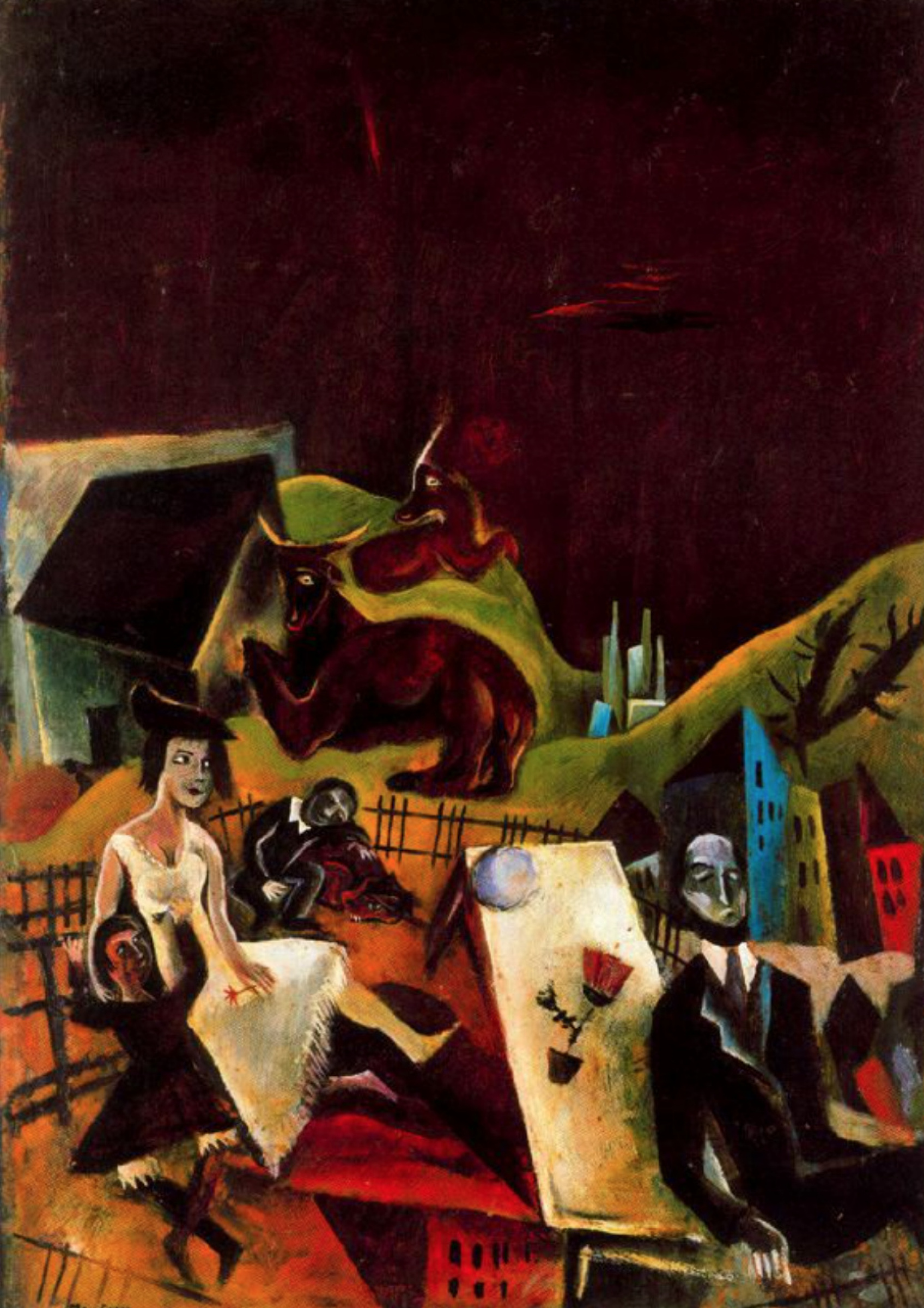 Max Ernst. Family outing