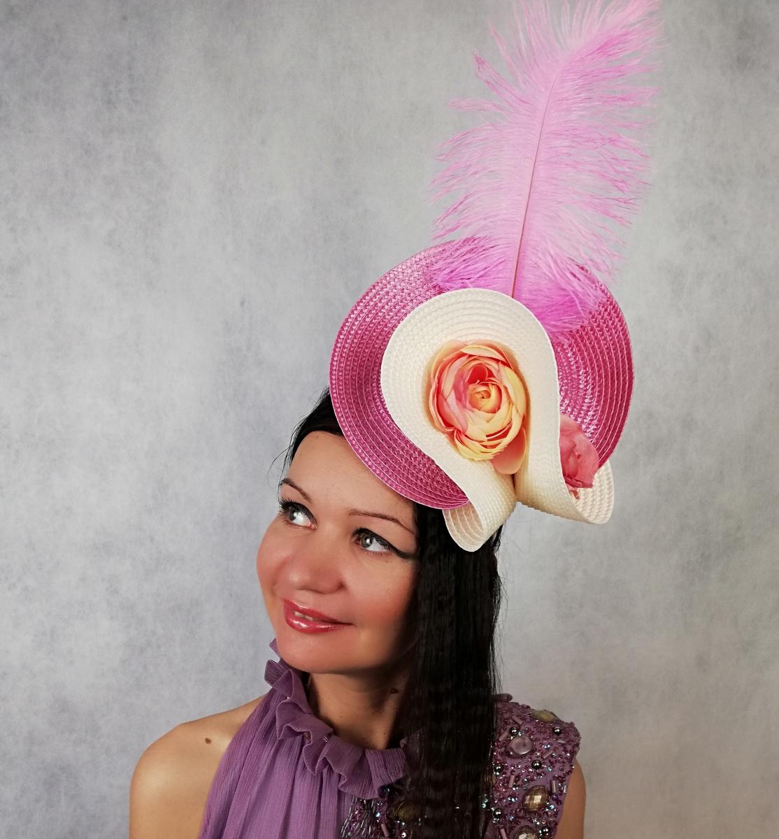 """Natalia Vladimirovna Solntseva. Hat """"Raspberries and Vanilla"""""""