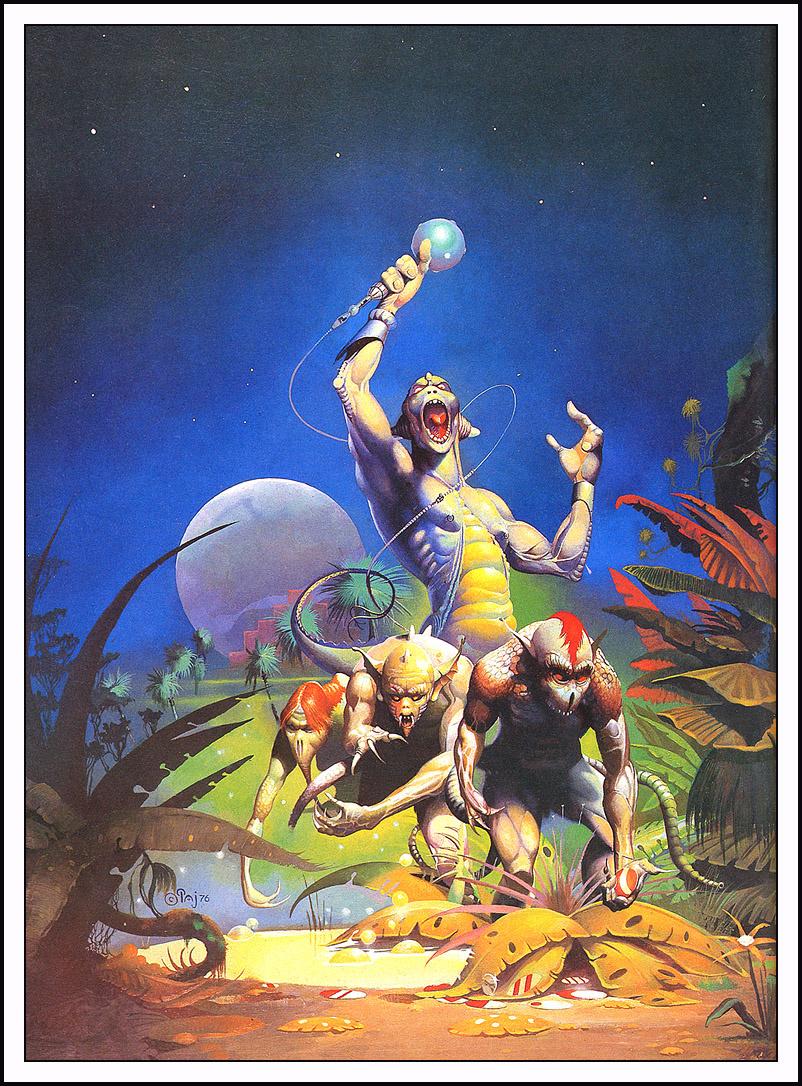 Peter Andrew Jones. Mutants