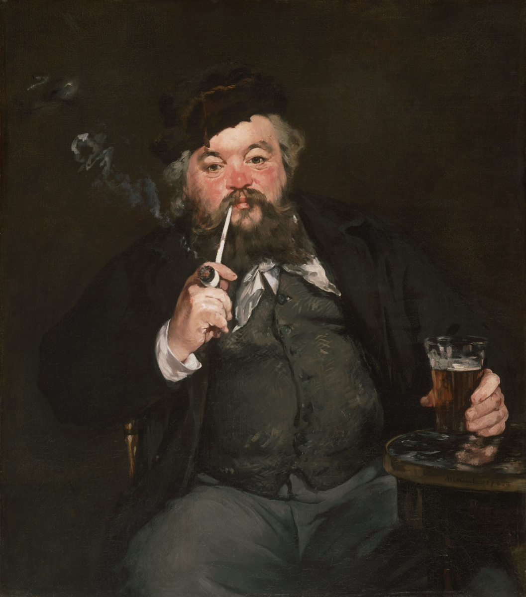 Edouard Manet. A good glass of beer