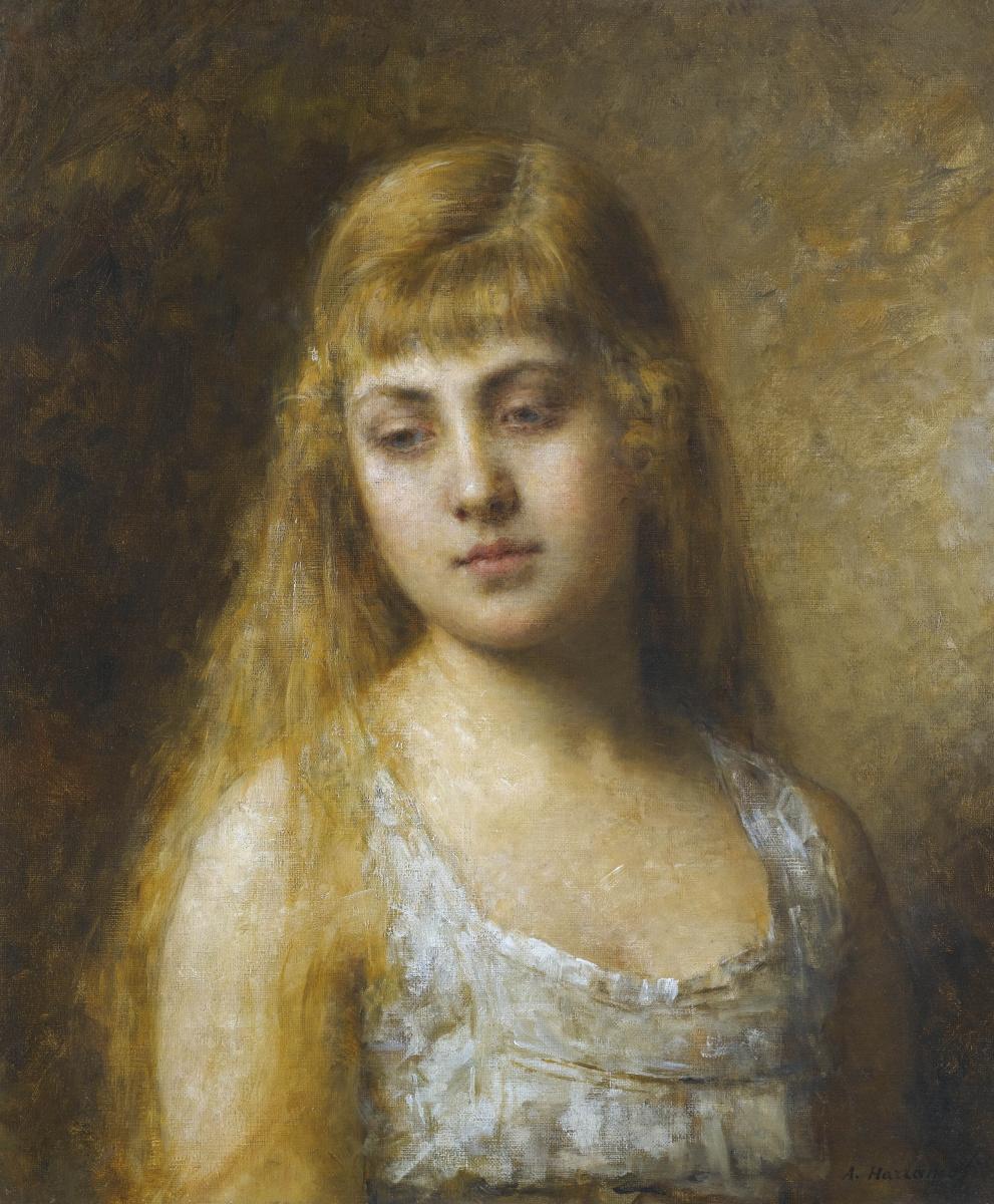 Alexey Alekseevich Kharlamov. Portrait of Felia Litvin.