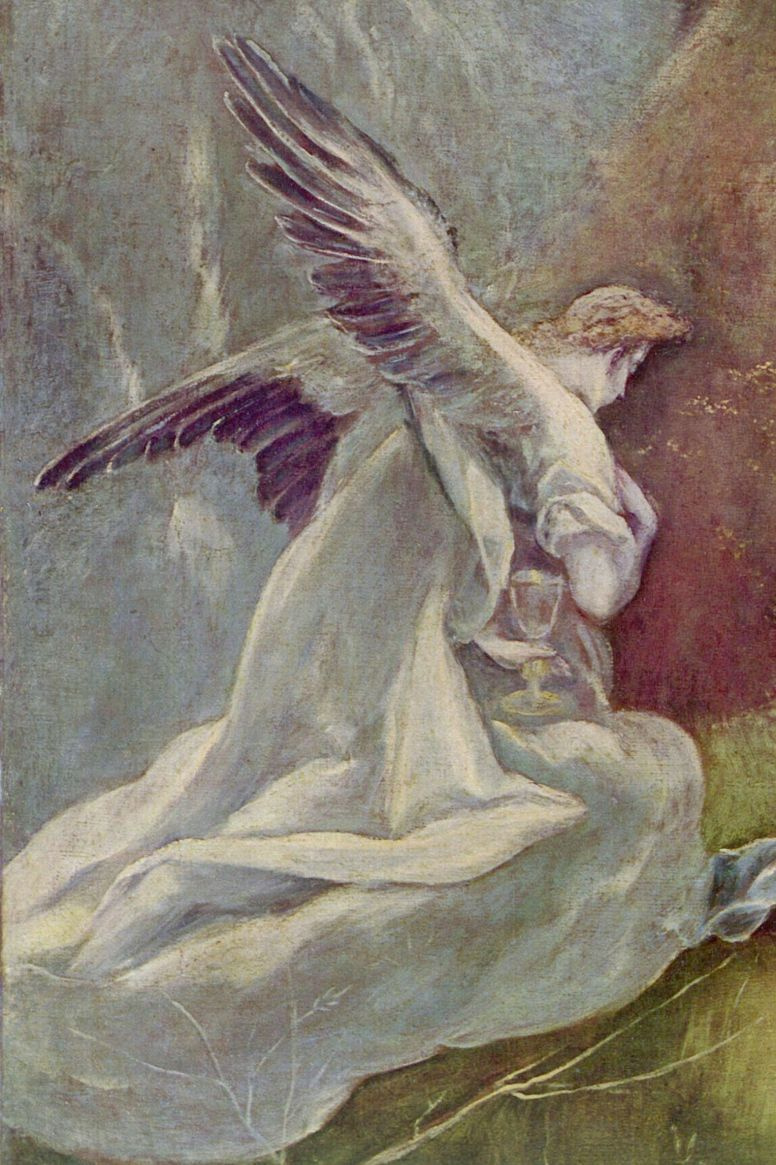 Доменико Теотокопули (Эль Греко). Агония в саду (фрагмент)