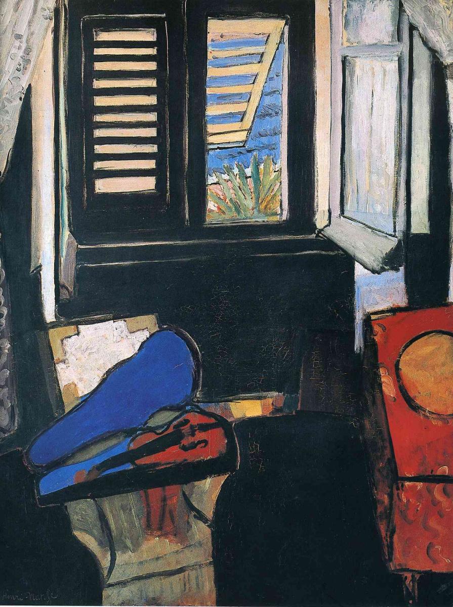 Henri Matisse. Interior with a violin