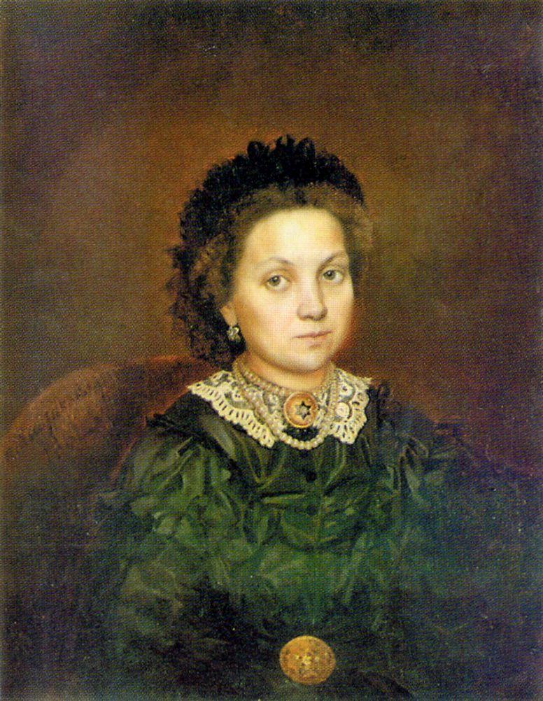 Pavel Petrovich Chistyakov. Portrait Of M. A. Grigoryeva