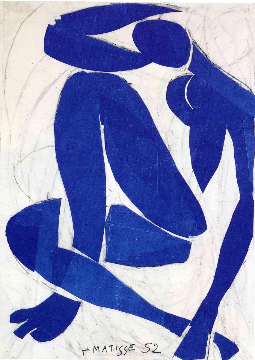Анри Матисс. Синяя обнаженная