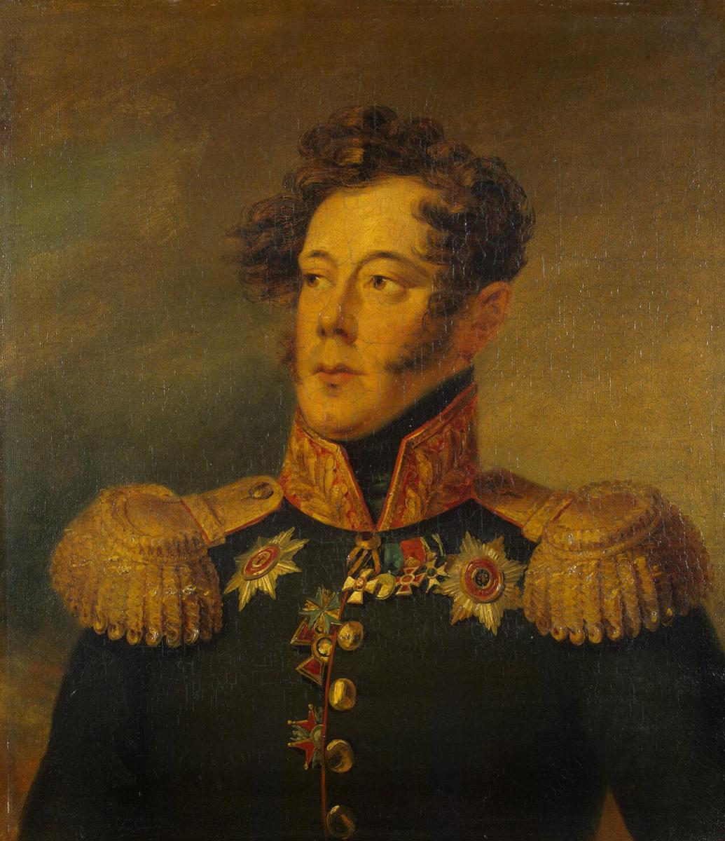 Джордж Доу. Портрет Александра Ивановича Альбрехта