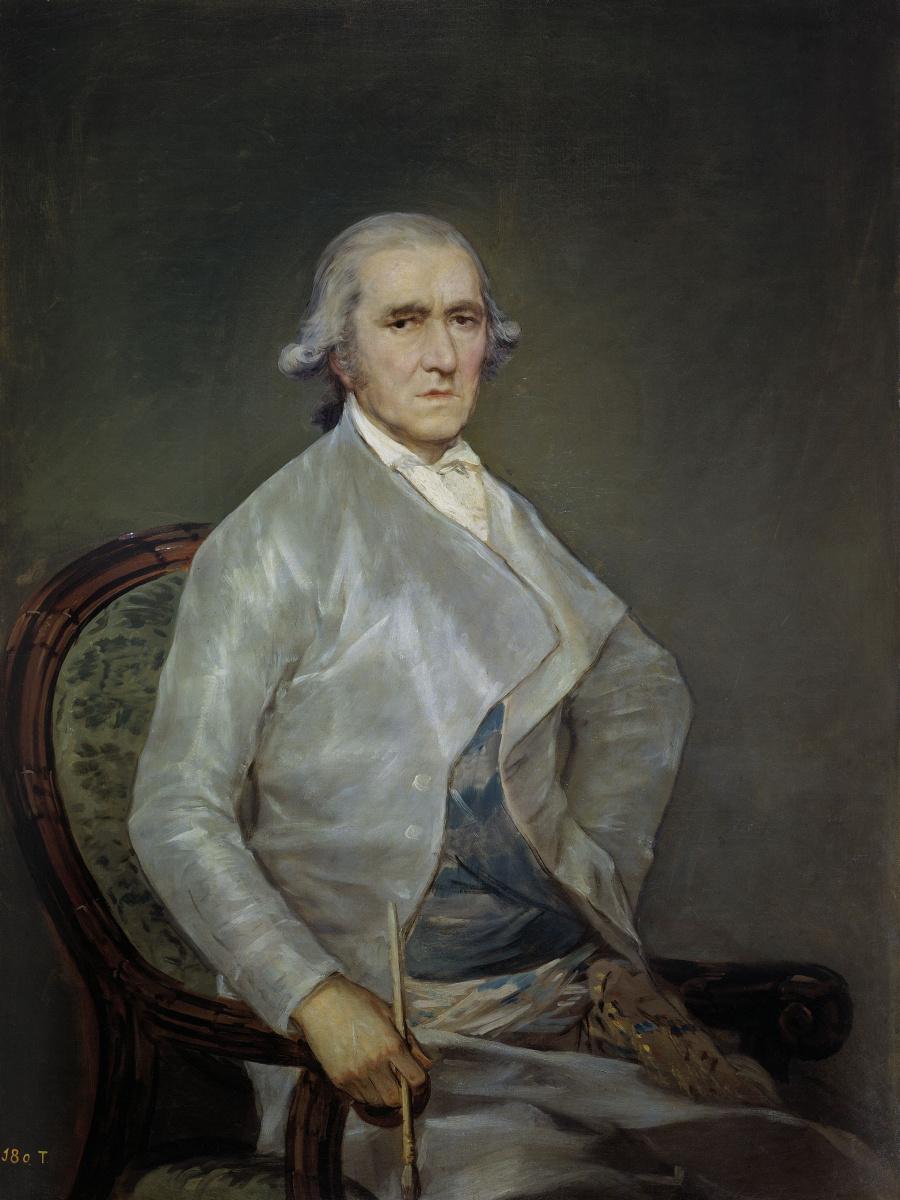 Франсиско Гойя. Портрет художника Франсиско Байеу