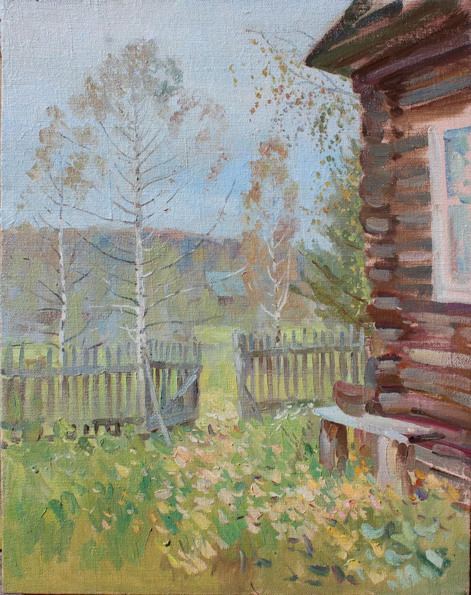 Eugene Buchne. Quiet autumn