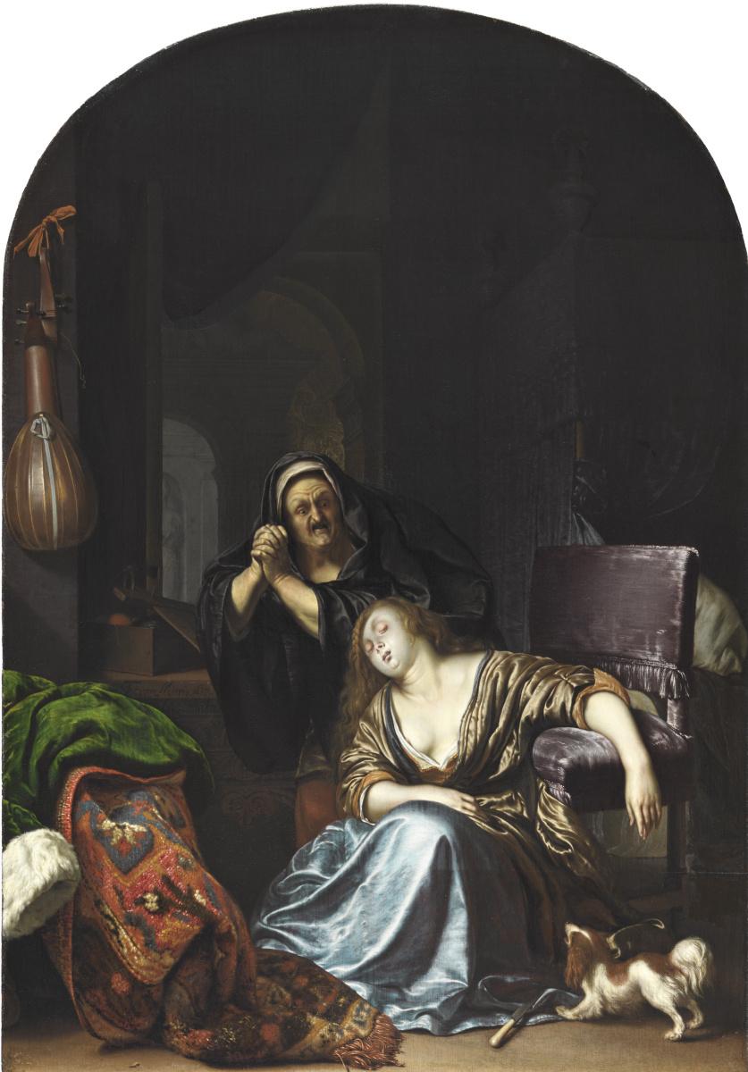 Франц ван Мирис Старший. Смерть Лукреции