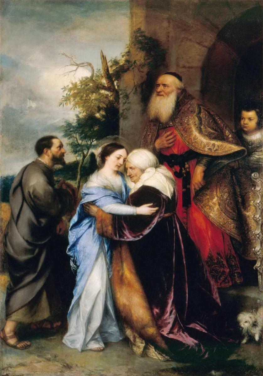 Ян Ливенс. Видение святой Елизаветы
