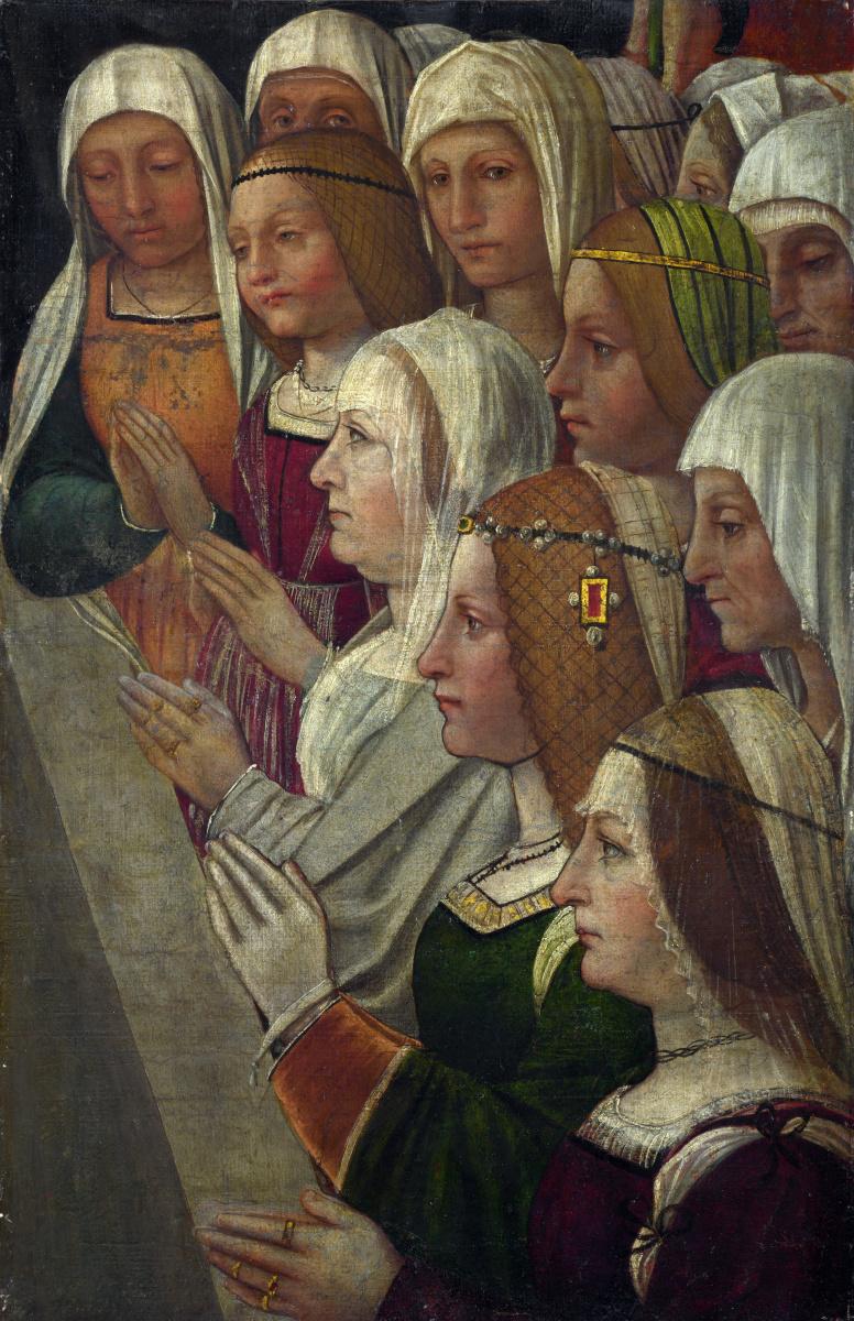 Миланский Итальянский. Женщины  молятся