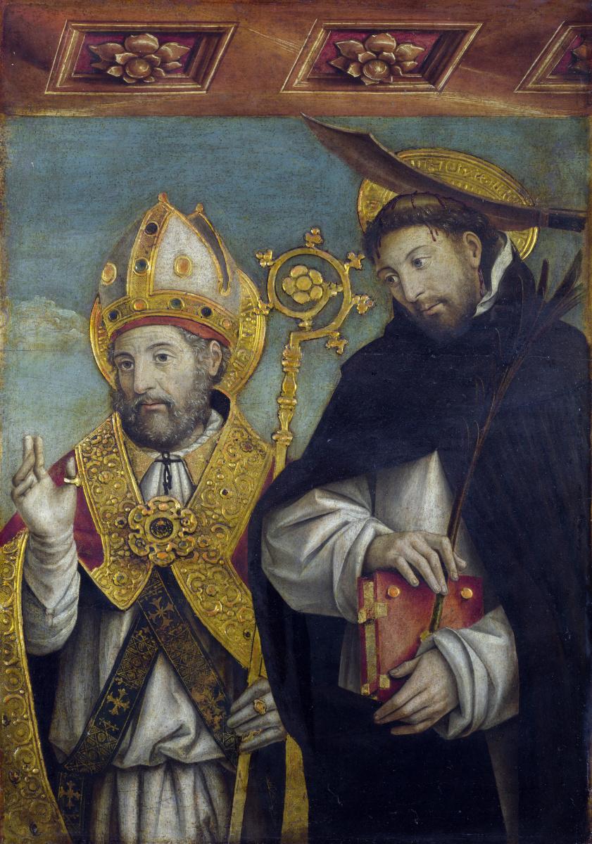 Мартино Спанзотти Джованни. Святой Петр Мученик и святой епископ