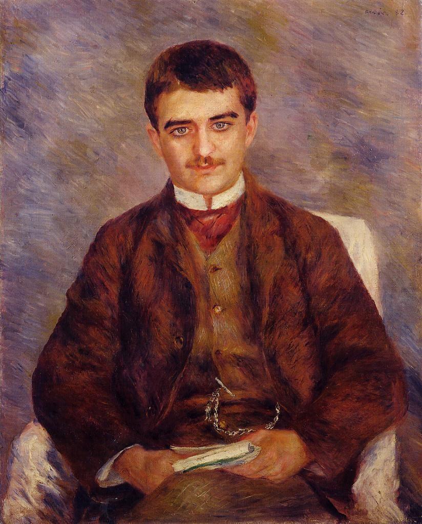 Pierre-Auguste Renoir. Portrait Of Joseph Durand-Ruel