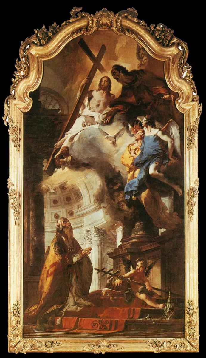 Джованни Баттиста Тьеполо. Папа Святой Климент