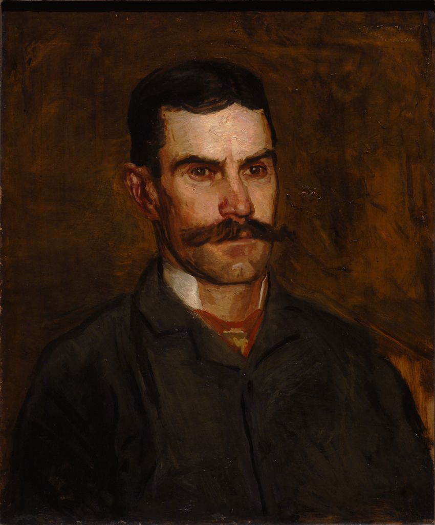 Thomas Eakins. Portrait of Frank MacDowell (unfinished)