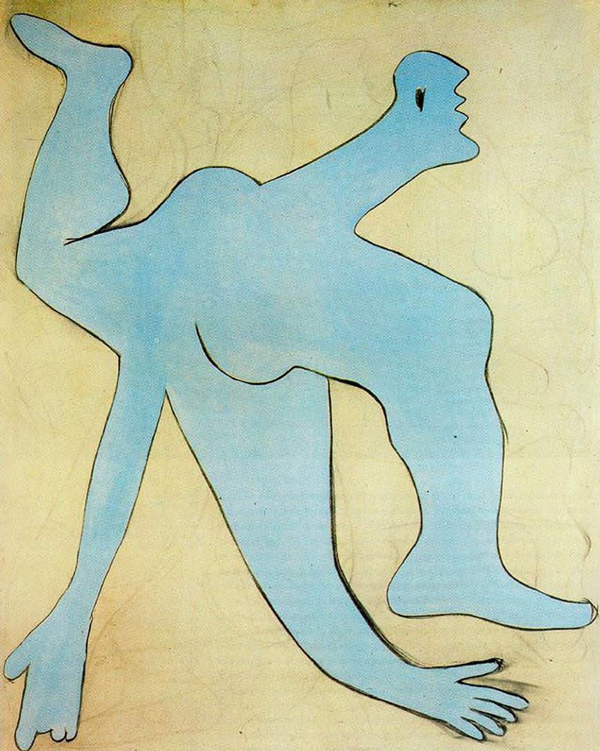 Пабло Пикассо. Синий акробат