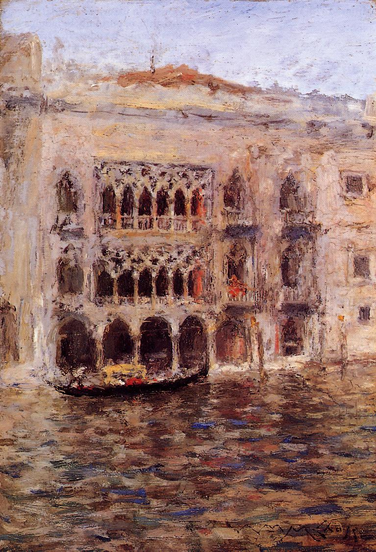 William Merritt Chase. Venice