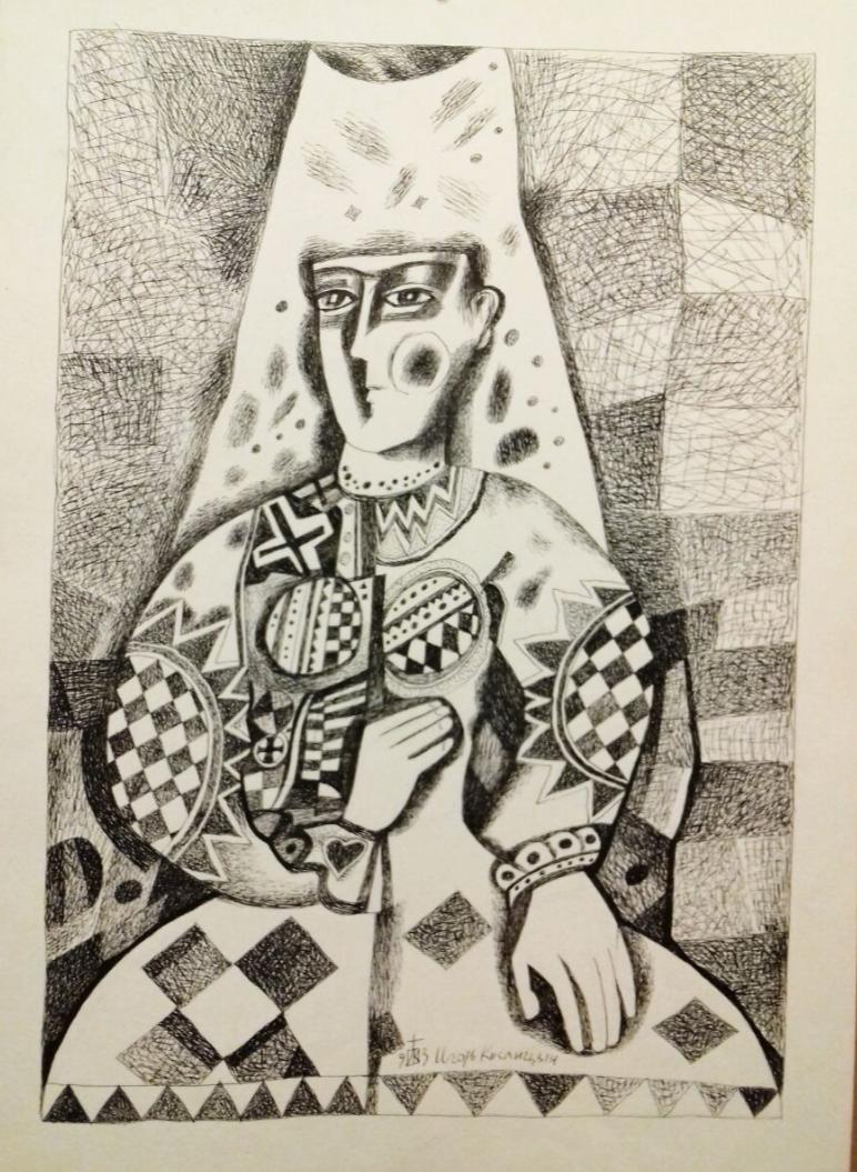 Igor Vasilyevich Kislitsyn. Gothic