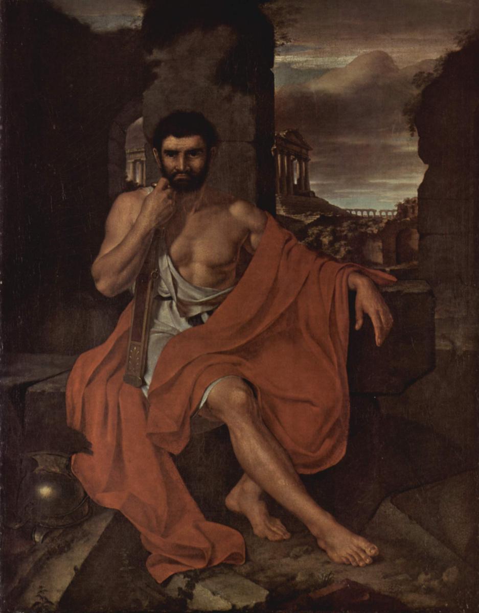 Джон Вендерлейн. Марий, размышляющий на развалинах Карфагена