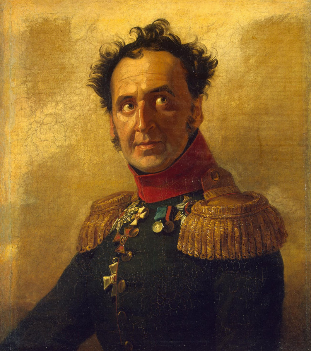 Джордж Доу. Портрет Федора Ивановича Талызина