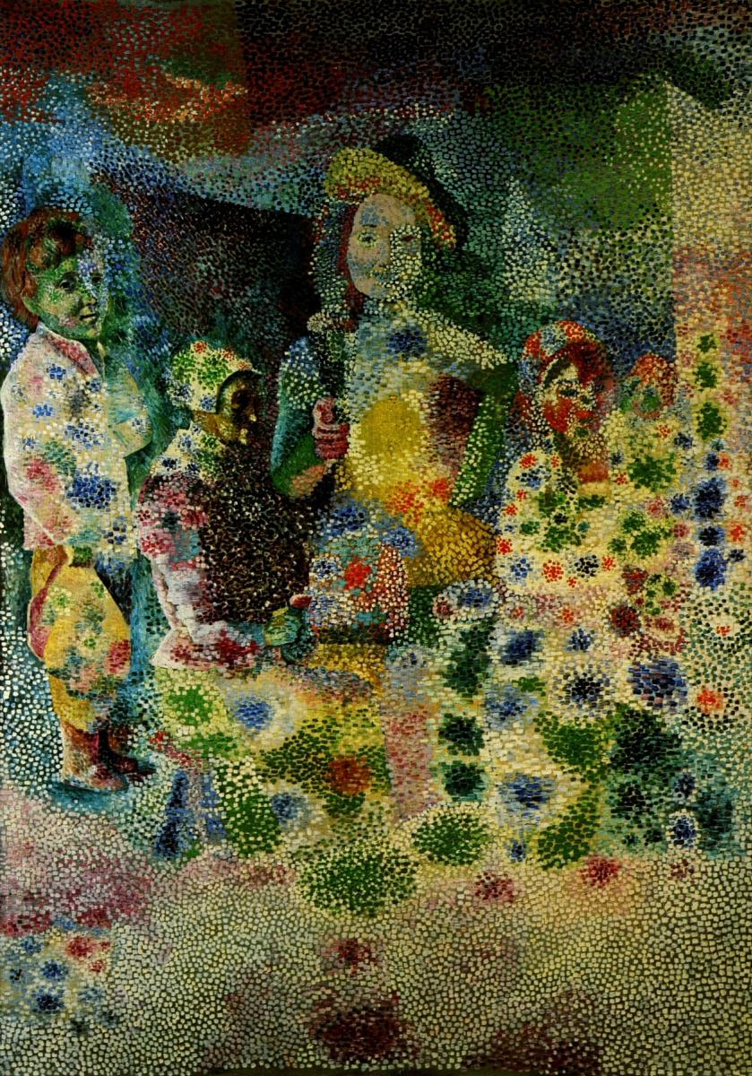 Пабло Пикассо. Возвращение с крестин