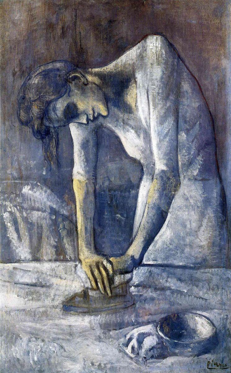Пабло Пикассо. Гладильщица