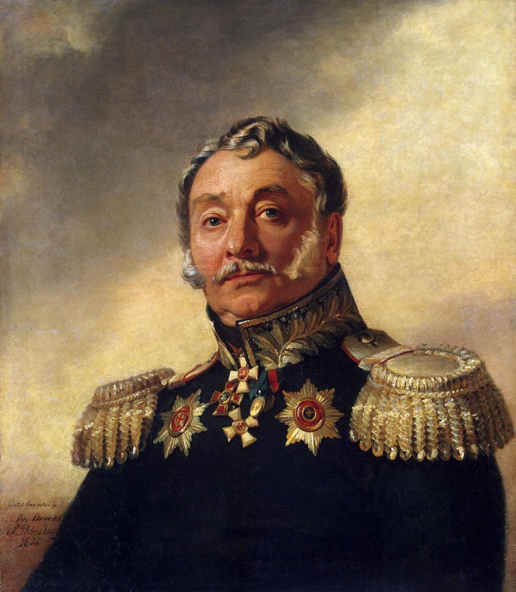 Джордж Доу. Портрет Алексея Васильевича Иловайского