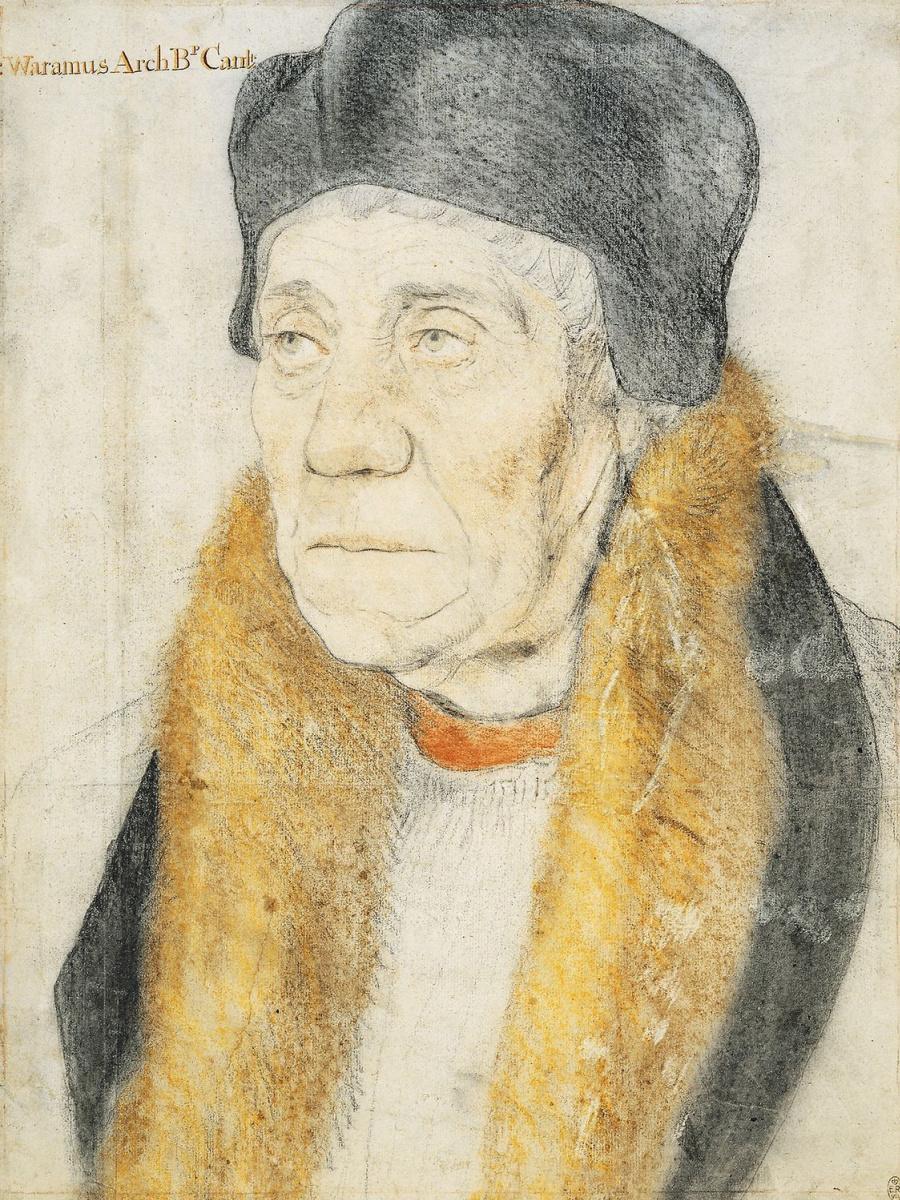 Ганс Гольбейн Младший. Портрет Уильяма Уорема