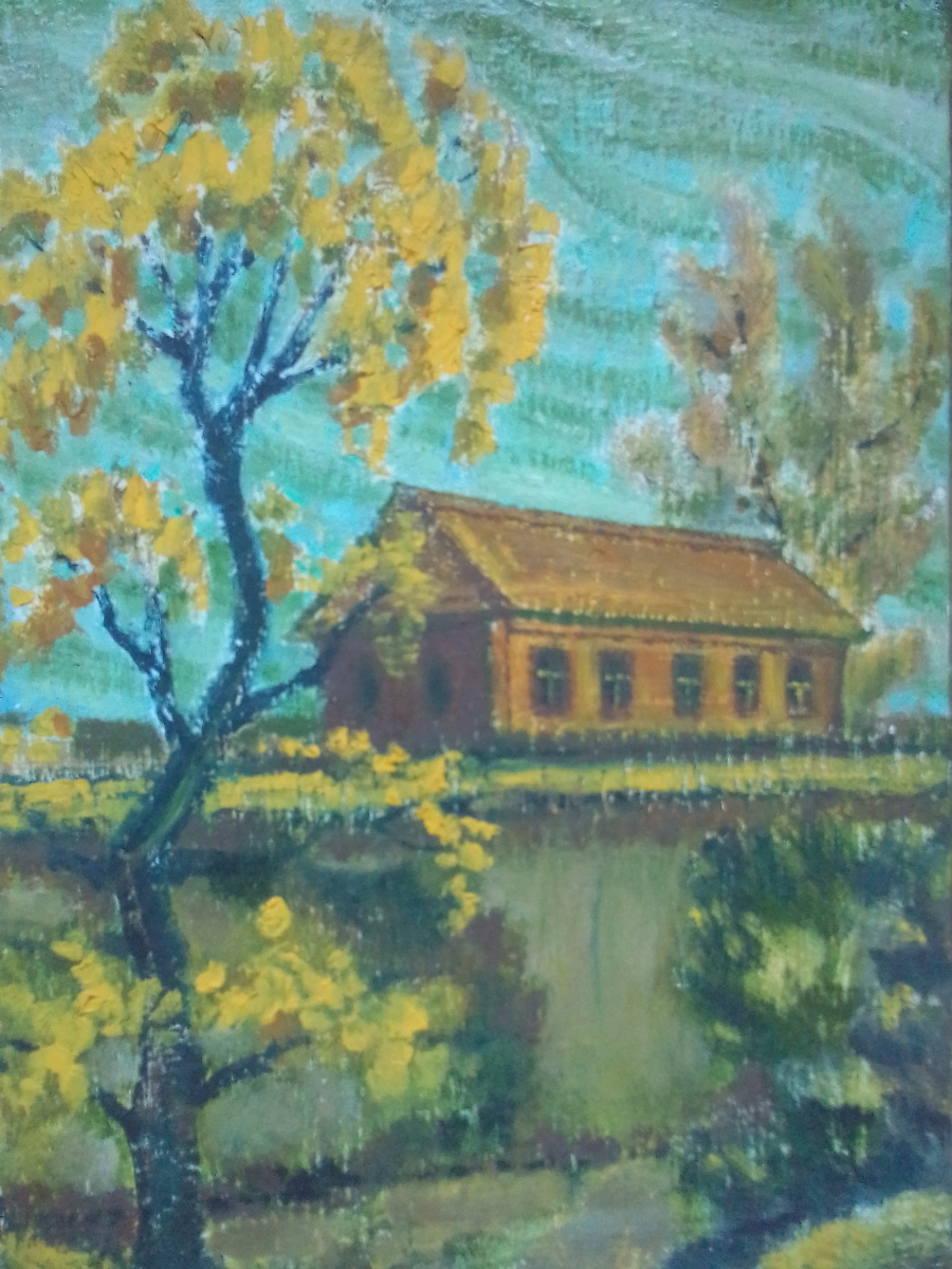 Вячеслав Коренев. Осень