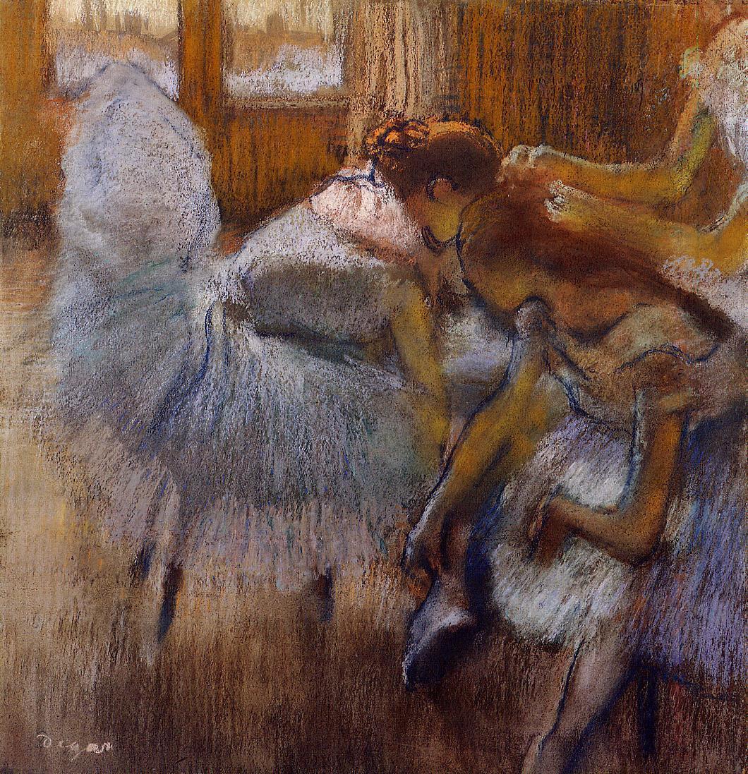 Эдгар Дега. Отдых балерин