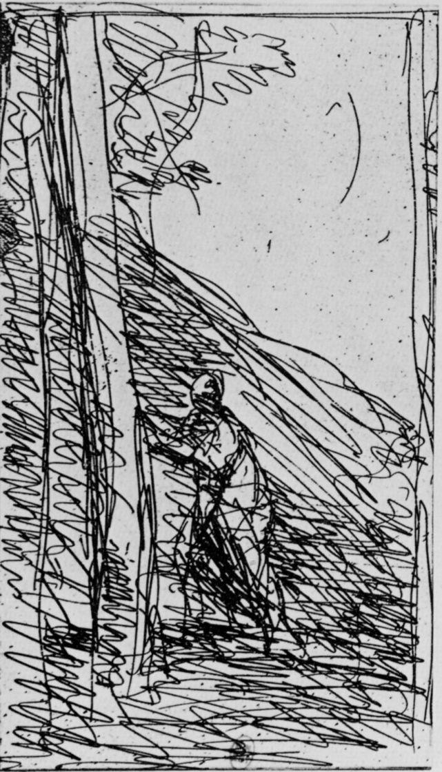 Камиль Коро. Большой дровосек
