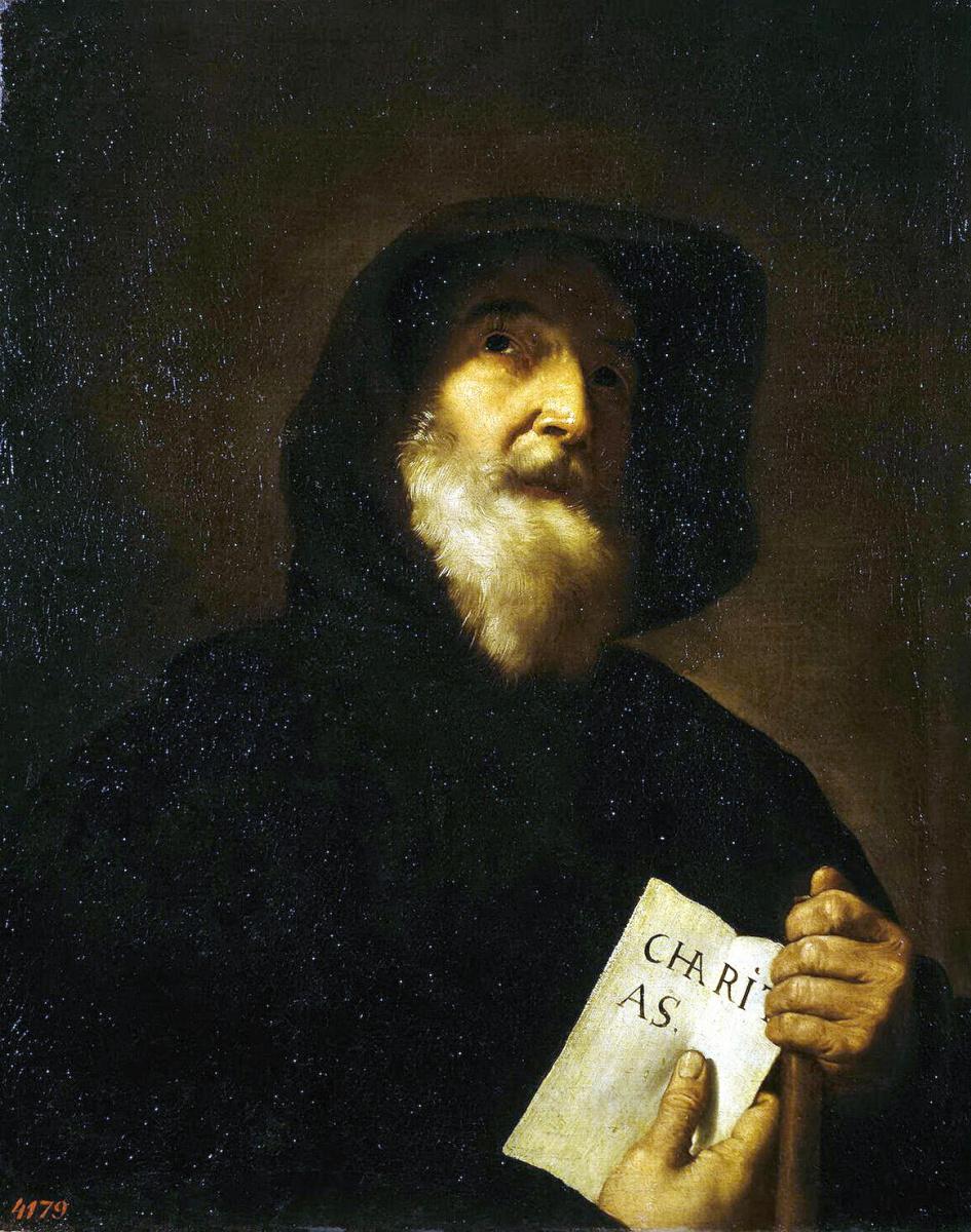Хосе де Рибера. Святой Франциск де Паула