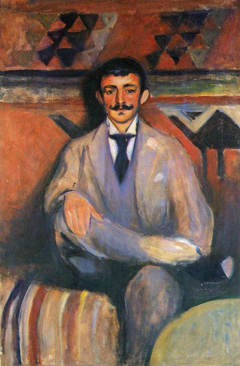 Edvard Munch. Artist Jacob Bratland