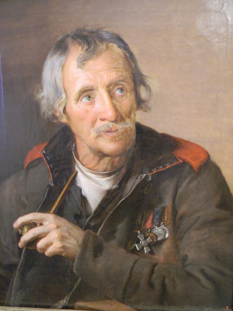 Василий Андреевич Тропинин. Старый солдат