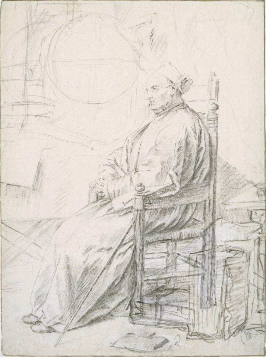 Ян Ливенс. Портрет ученого в кабинете