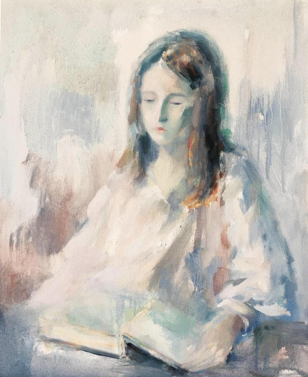 Nadezhda Yurievna Syabro. Girl with a book