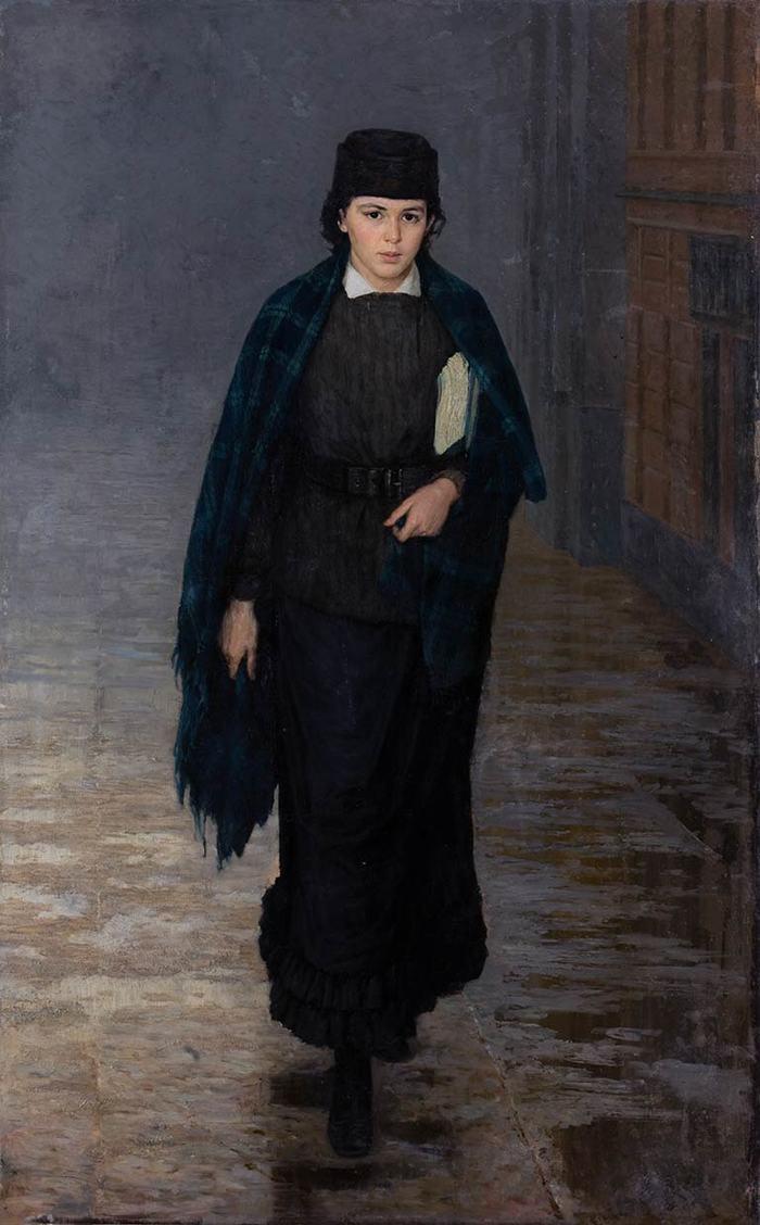Nikolay Aleksandrovich Yaroshenko. Student
