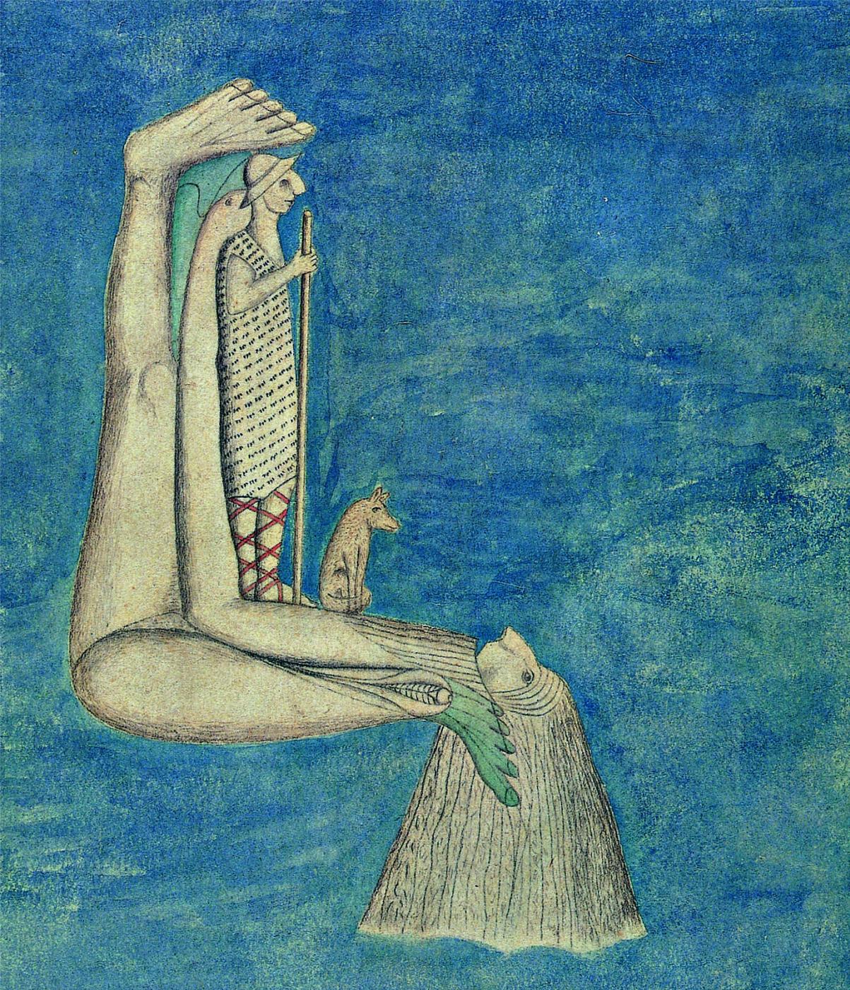 350b064a Сумасшедшее искусство - «Чудо в обувной стельке»: коллекция доктора  Принцхорна на выставке в Германии и прочий поразительный Бедлам