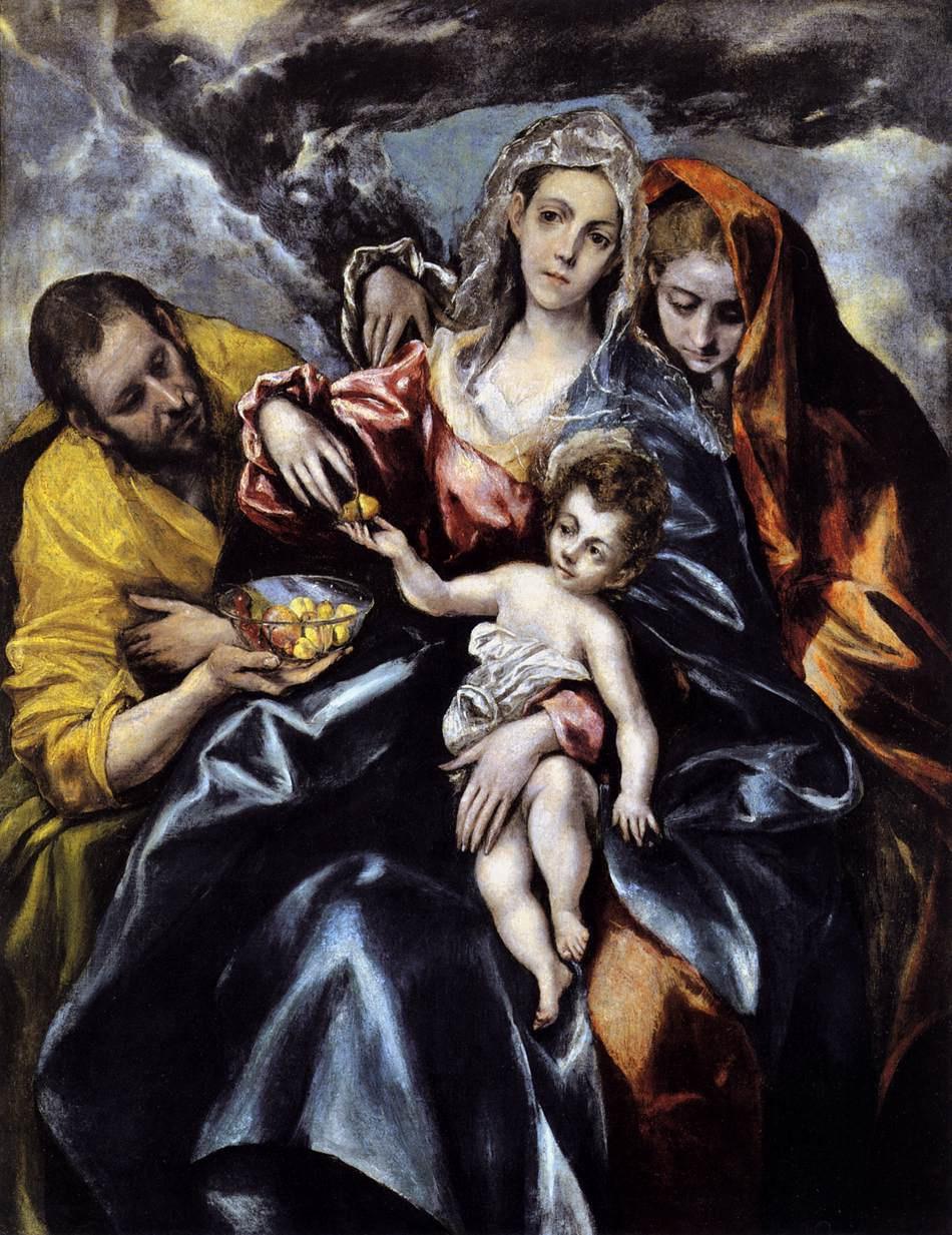 Самая маленькая выставка в честь года Эль Греко: «Святое семейство» прибыло в Портленд
