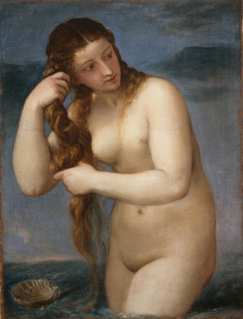 «Венера Анадиомена» Тициана: выставка одного шедевра в Гааге