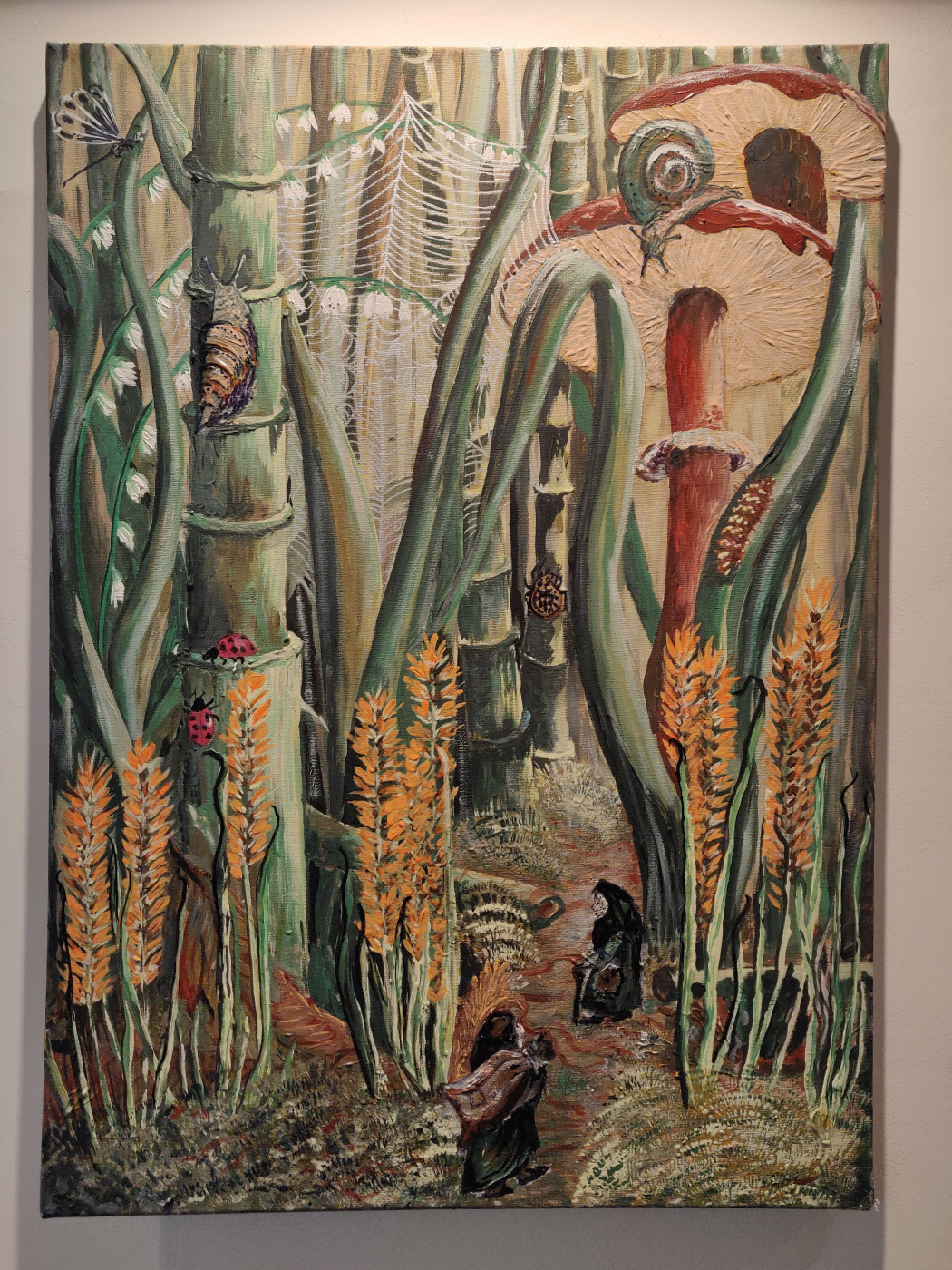 Nadin. Tall grass world