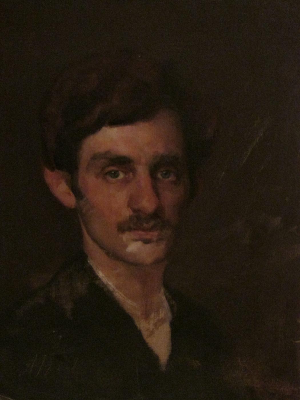 Abram Zinovievich Bykov. Autoportret
