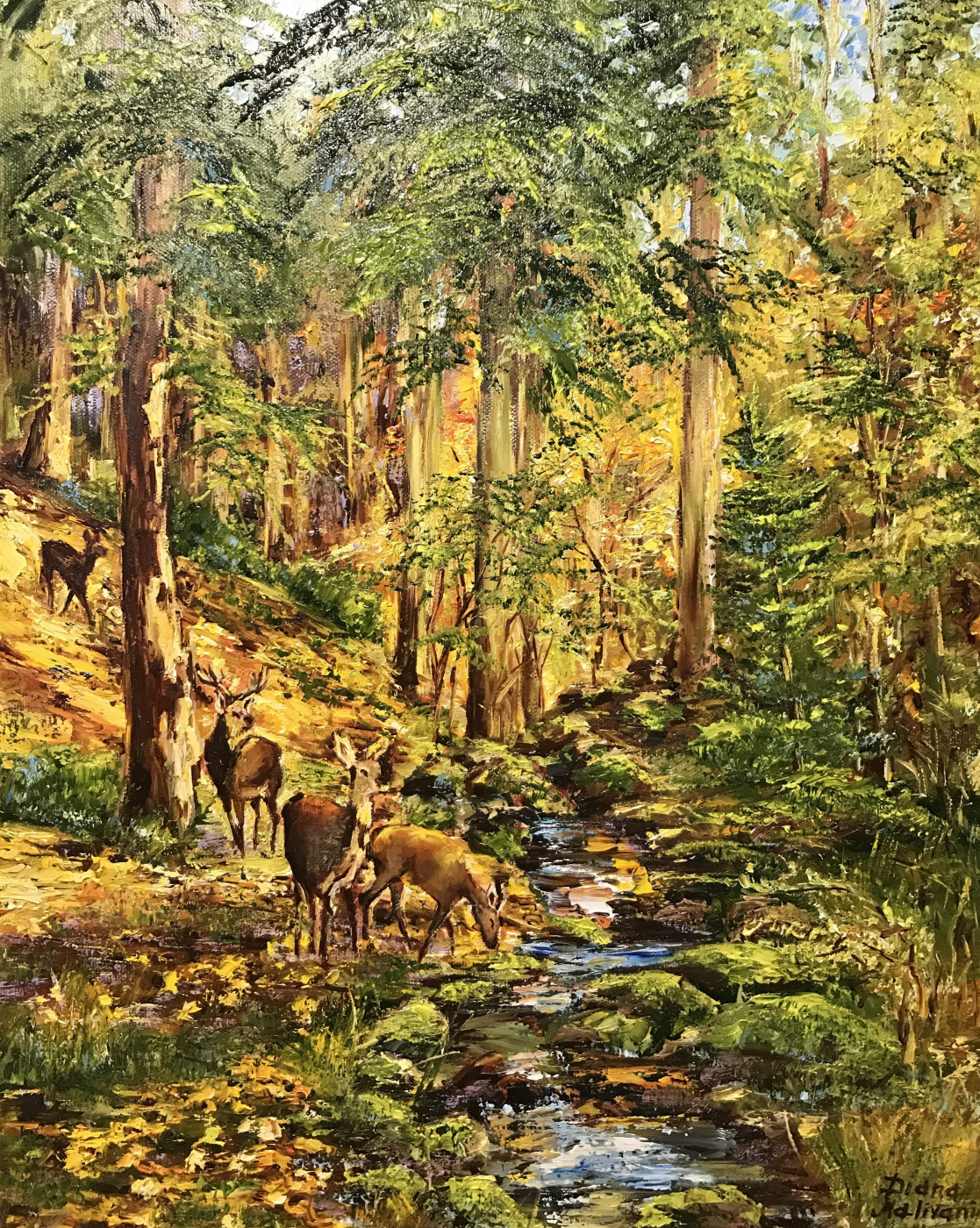 Диана Владимировна Маливани. In the Autumn Forest