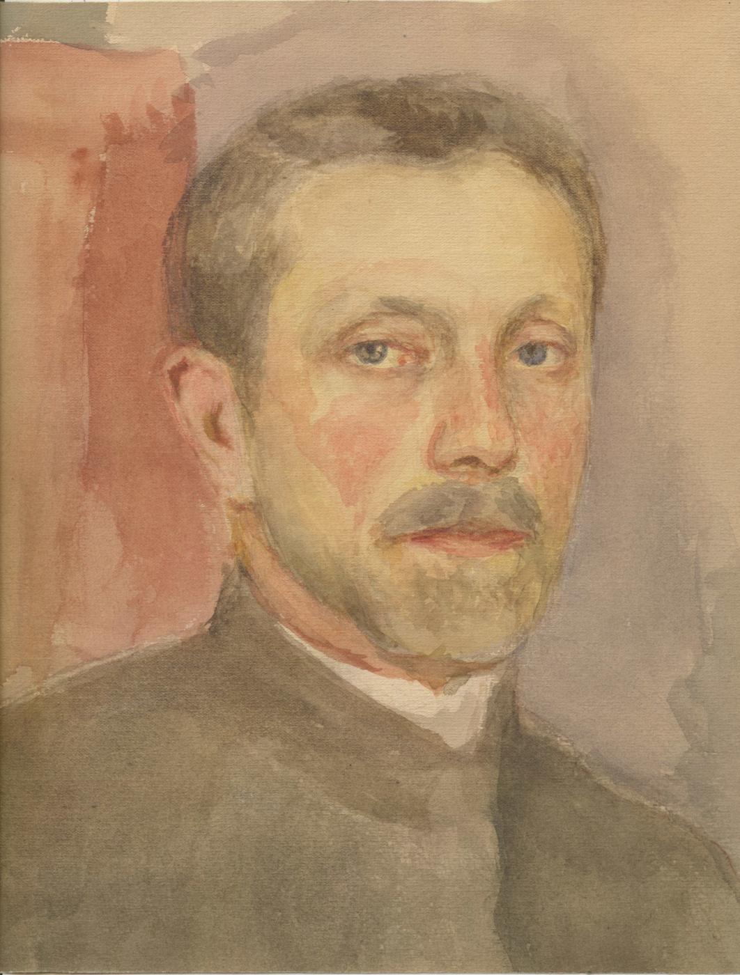 Евгений Иосифович Буковецкий. Self-portrait