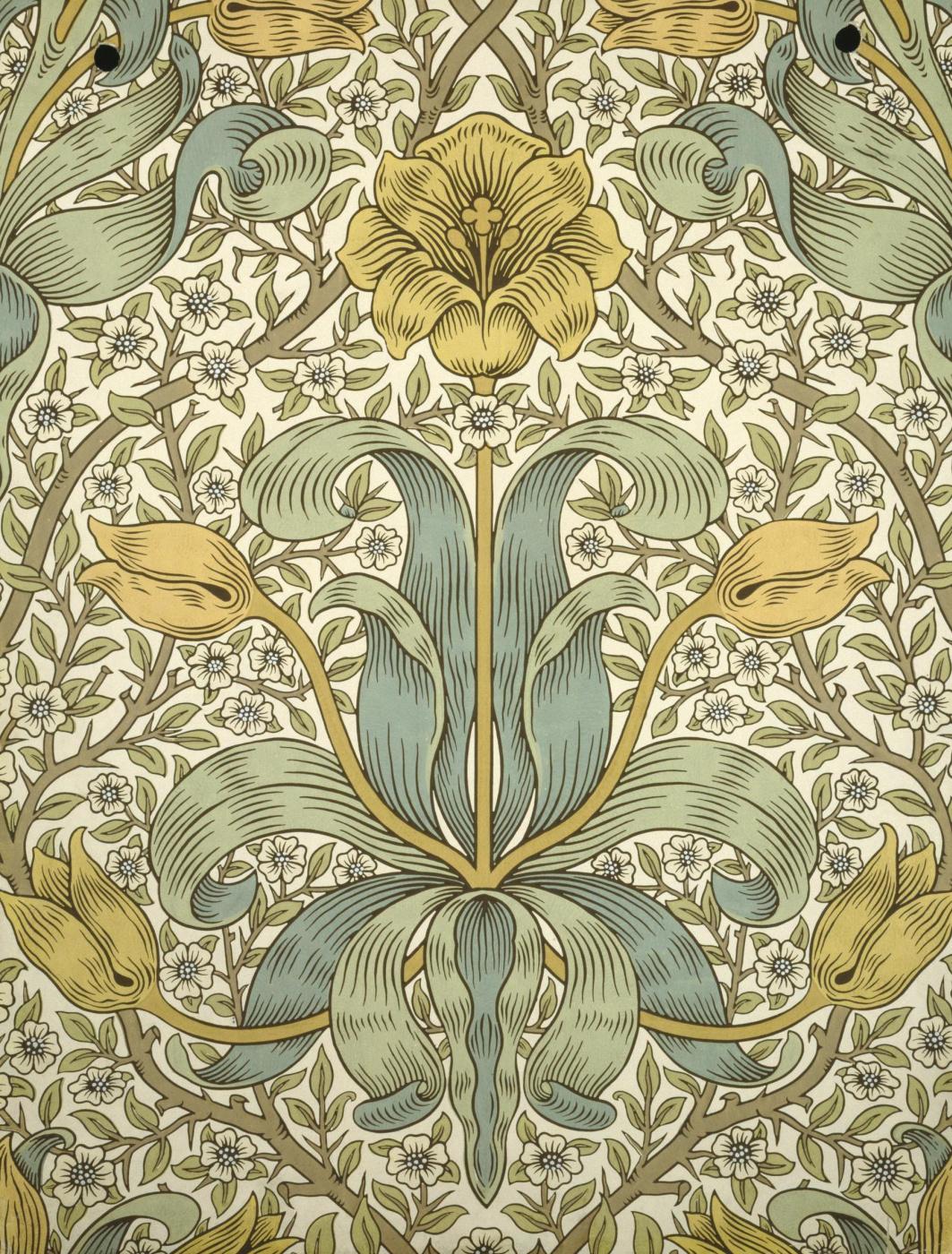William Morris. Lily